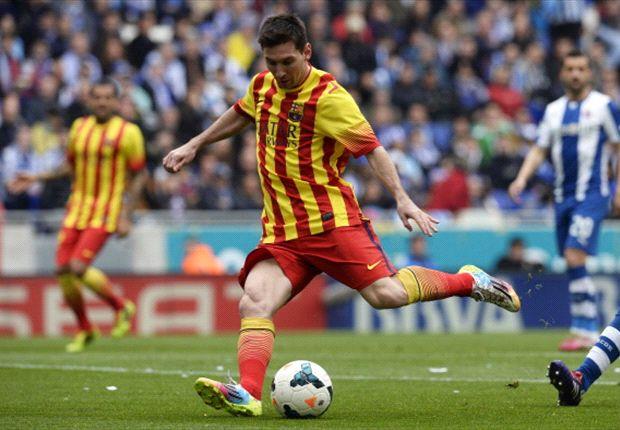 Leo Messi war gegen Espanyol erfolgreich
