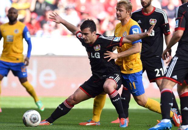 Kein Sieger im Duell zwischen Leverkusen und Braunschweig