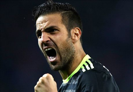 Chelsea fans beg Fabregas to stay
