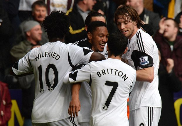 Swansea City 3-0 Norwich City: De Guzman & Routledge give Swans breathing space