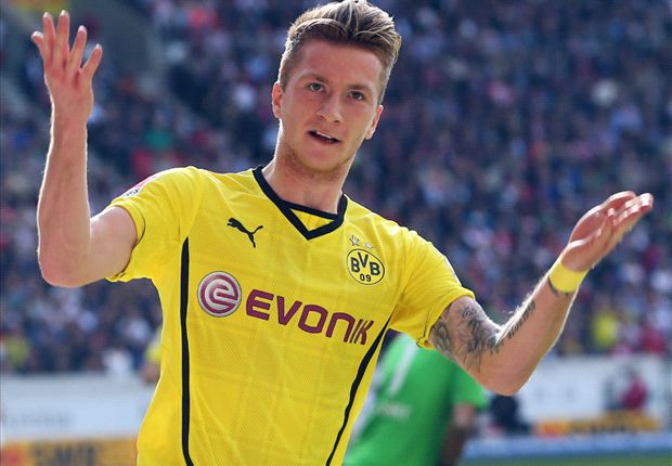 Stuttgart 2-3 Borussia Dortmund: Reus hat-trick sends Klopp's troops towards Champions League