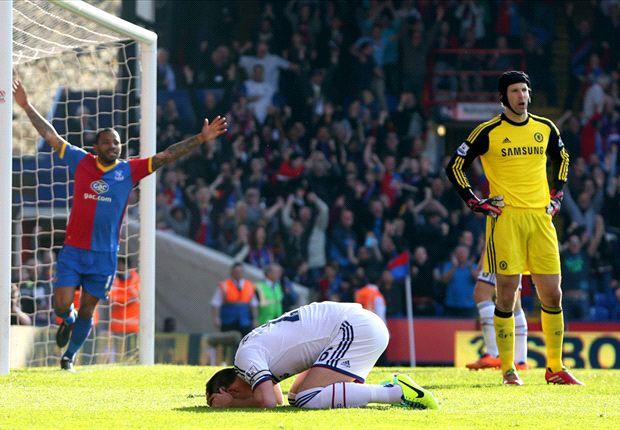 Crystal Palace 1-0 Chelsea: John Terry quita media Premier a los de José Mourinho