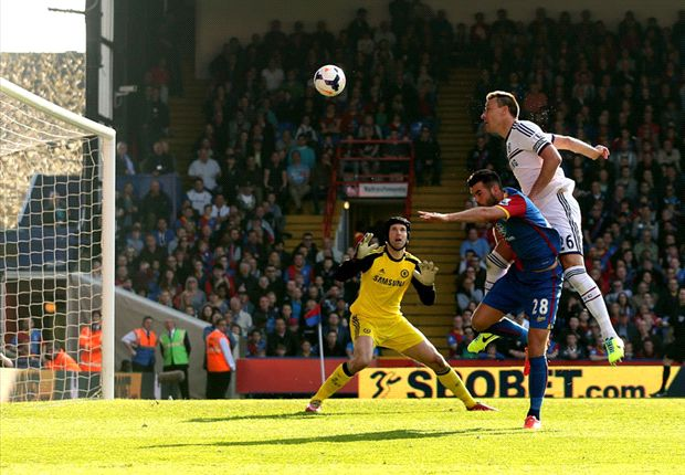 Crystal Palace 1-0 Chelsea: Terry own goal damages Blues' title tilt