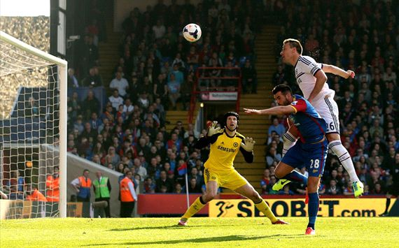 John Terry Joe Ledley Crystal Palace Chelsea Premier League 03292014