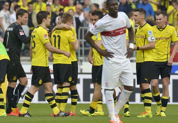 Dortmund jubelt über Sieg gegen leidende Stuttgarter
