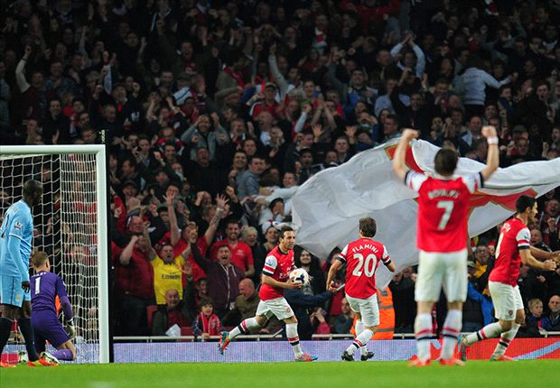 Arsenal 1-1 Manchester City: Los Gunners salvan el 'match ball'