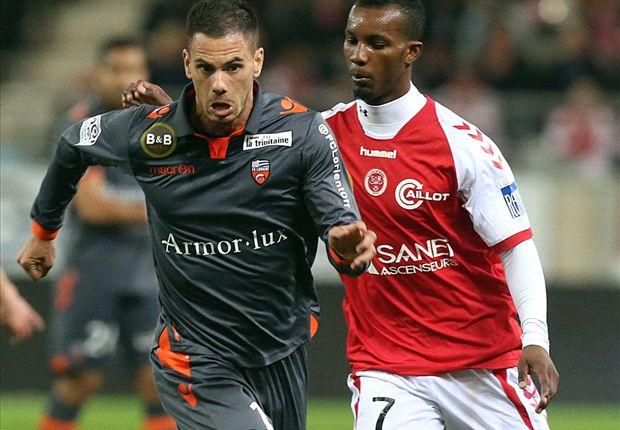 Reims-Lorient (1-1), Fortes sauve Reims