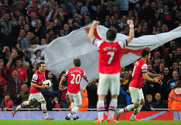 Arsenal 1-1 Manchester City: Flamini helps Gunners restore some pride