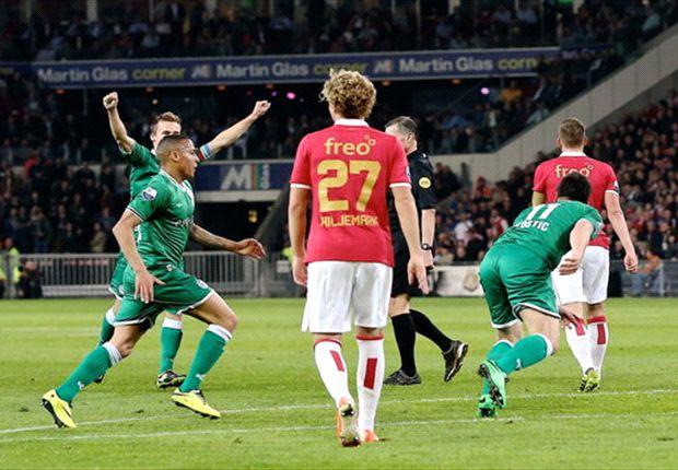 FC Groningen beëindigt zegereeks PSV