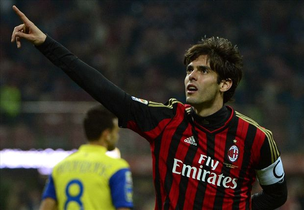 AC Milan 3-0 Chievo: Kaka double in 300th game as Rossoneri bag another win