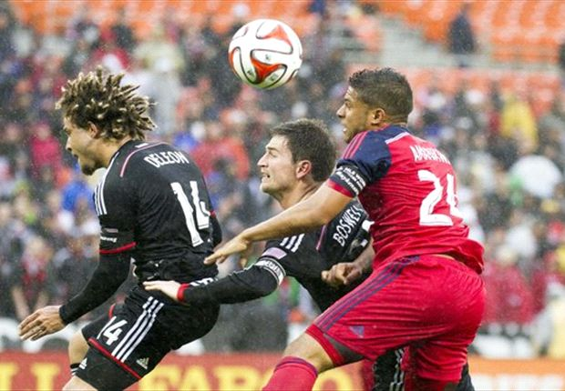 D.C. United 2-2 Chicago Fire: Amarikwa salvages road draw late