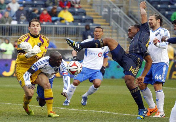 Philadelphia Union 1-1 Montreal Impact: Di Viao levels in return