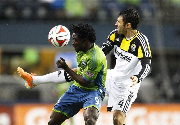 Seattle Sounders 1-2 Columbus Crew: Meram goal punishes 10-man Sounders