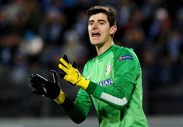 Courtois: Atletico at the same level as Barcelona