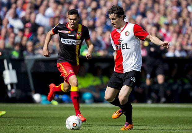 Effectief Feyenoord legt Eagles over de knie