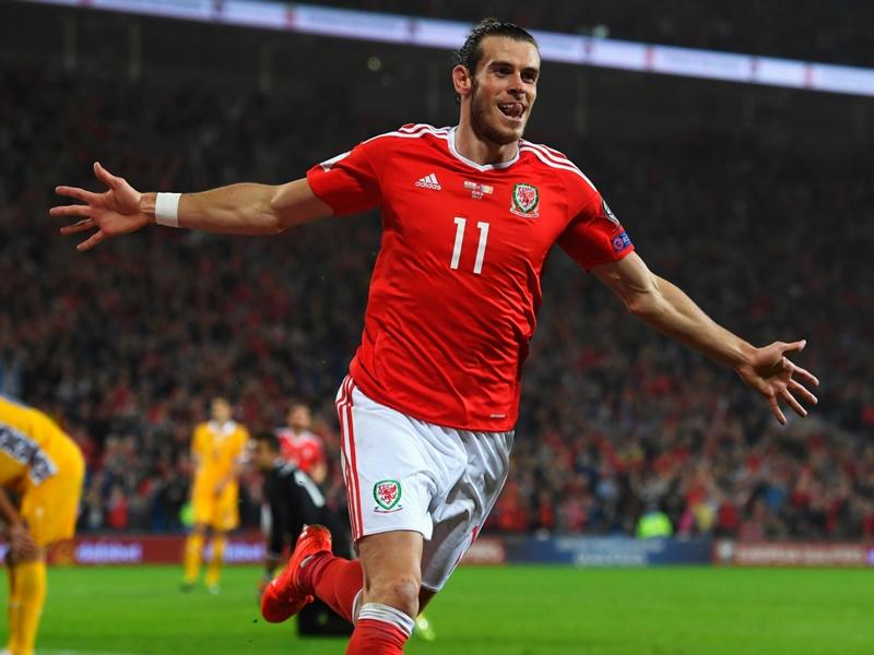 Pays de Galles, Gareth Bale forte tête