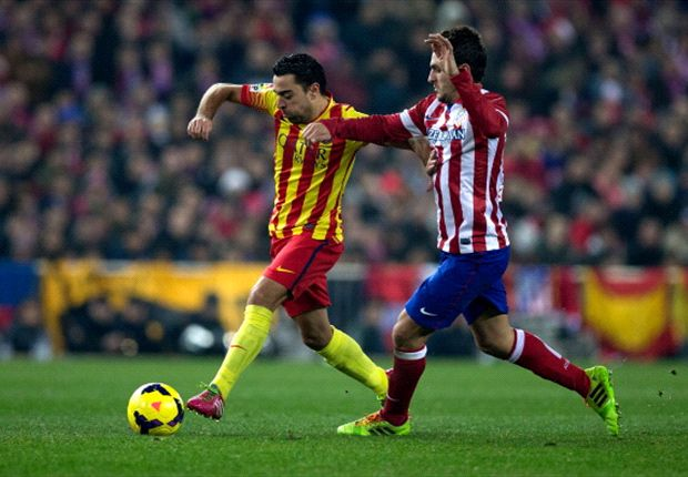Barca and Atletico as good as each other, says Xavi