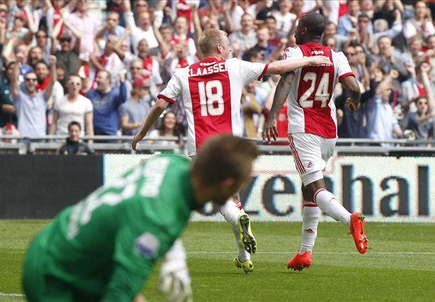 Ajax in zetel op weg naar de landstitel