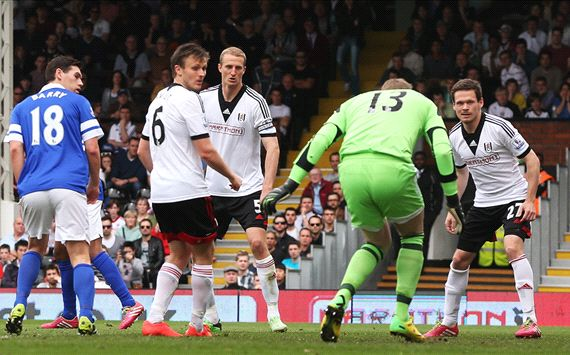 David Stockdale Fulham Everton Premier League