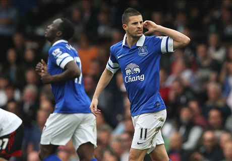 Mirallas doubles Everton's advantage - LIVE