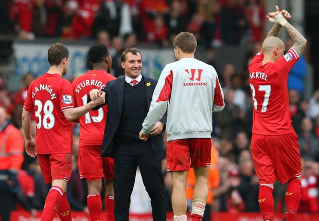 Rodgers: Liverpool must show courage to win title