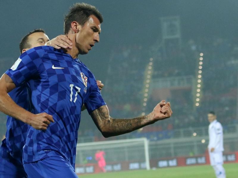 Juventus, Mandzukic scatenato con la Croazia: capocannoniere delle qualificazioni a Russia 2018