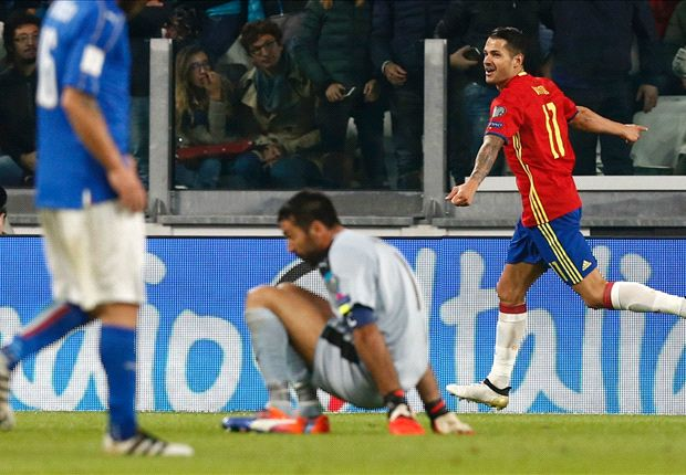 Italy 1-1 Spain: De Rossi penalty spares Buffon's blushes