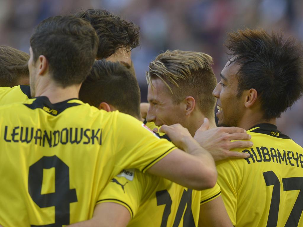 Zahlen des Bundesliga-Spieltags: Dortmund mit mehr Ballbesitz als Bayern