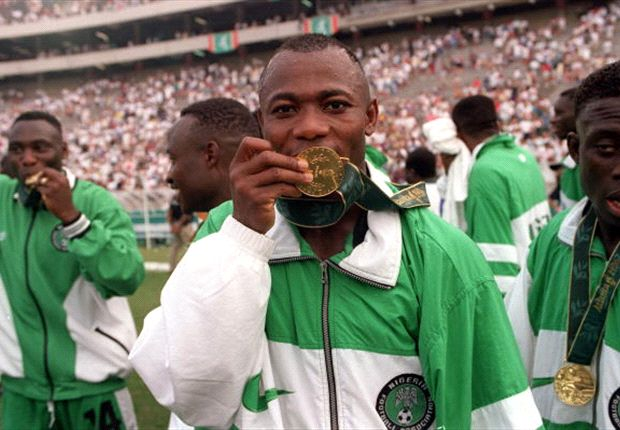 20 years ago Nigeria beat Argentina to win football gold at the 1996 Olympics