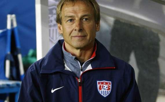 United States coach Jurgen Klinsmann