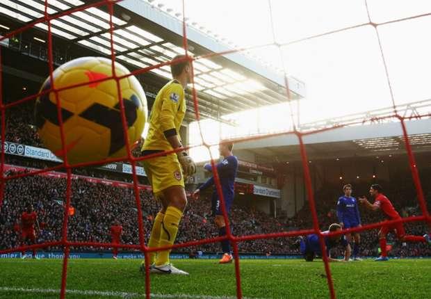 El Liverpool pega un bocado al liderato