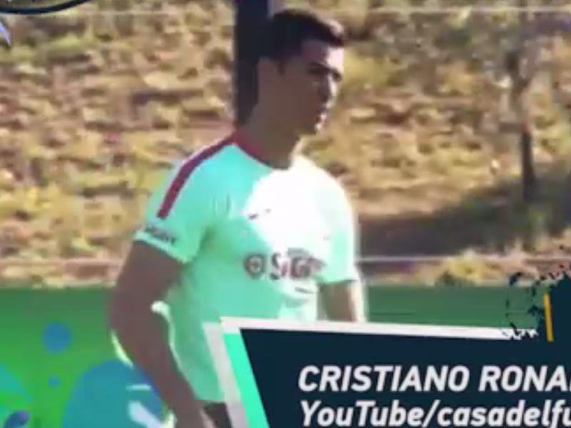 Cristiano Ronaldo et Marcelo dans le Social Snap du jour