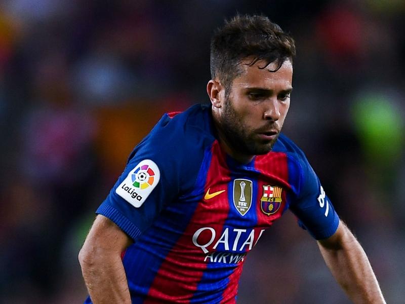 Un problema in più per il Barcellona: Jordi Alba a rischio per il Clasico