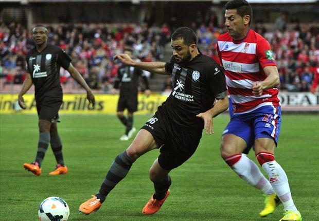 Granada 0-2 Levante: El orden táctico de Caparrós maniata al conjunto nazarí