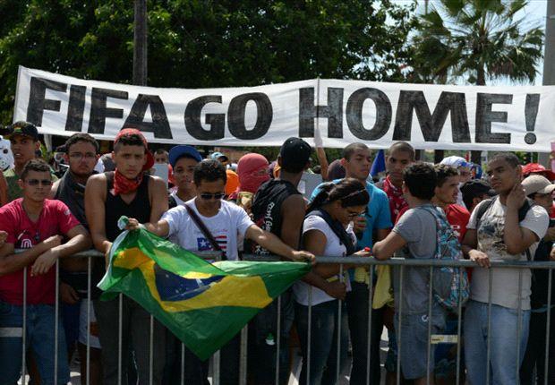 2013 Confederations Cup protests