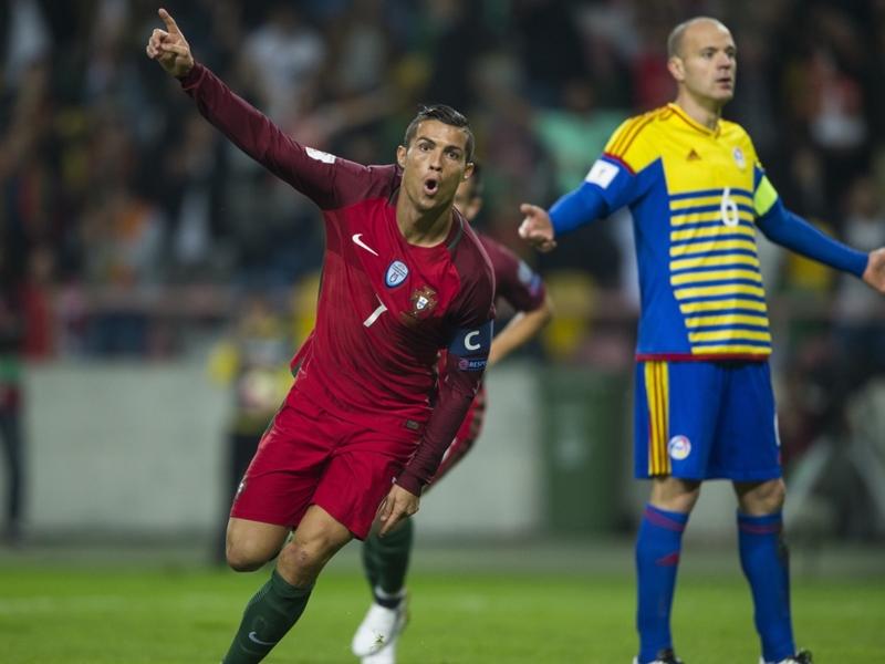 Cristiano Ronaldo dopo il poker ad Andorra: Contento, ho sentito un po' di dolore