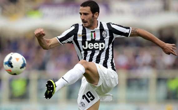 Juventus' Leonardo Bonucci.