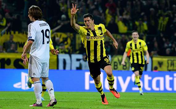 Lewandowski: Dortmund not the same side that upset Real Madrid last season