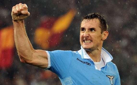 Am vergangenen Wochenende bejubelte Miroslav Klose sein achtes Saisontor