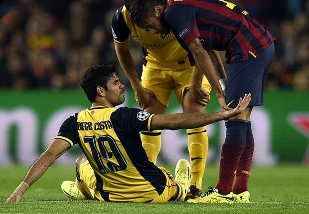 Atletico confirms Diego Costa did not tear hamstring