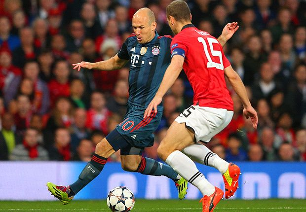Robben: Bayern 'satisfied' with Man Utd draw