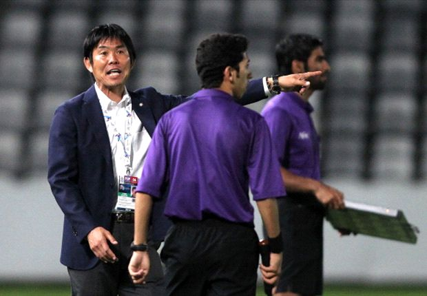 The officiating team were escorted off the pitch by security after the match