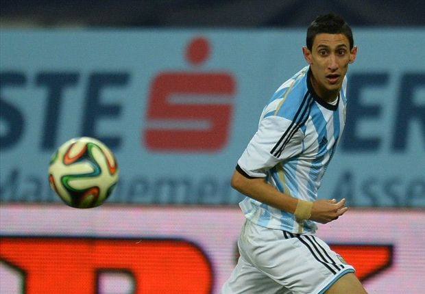 Di Maria: Anything other than winning the World Cup a failure for Argentina