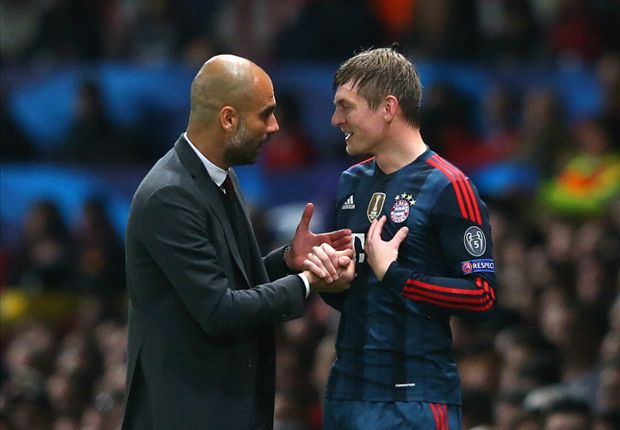 Guardiola: We tried to convince Kroos to stay at Bayern