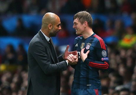 Guardiola: We wanted Kroos to stay