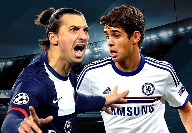 LIVE! + Opstellingen PSG - Chelsea