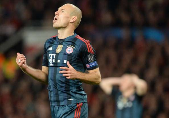 There is 'a giant crisis' at Bayern, jokes Robben