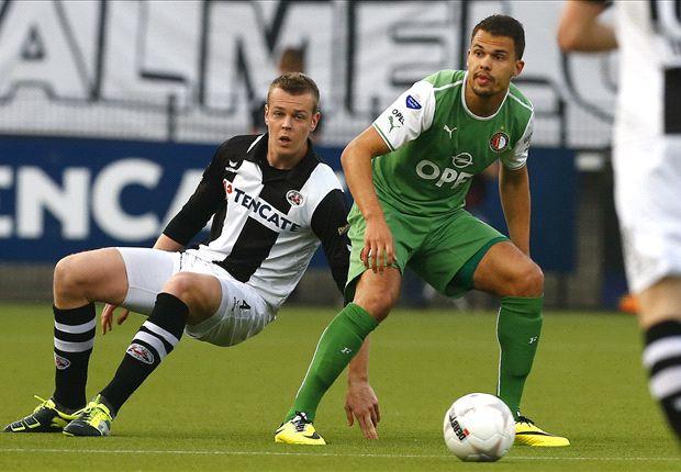 Feyenoord verstevigt de tweede plek