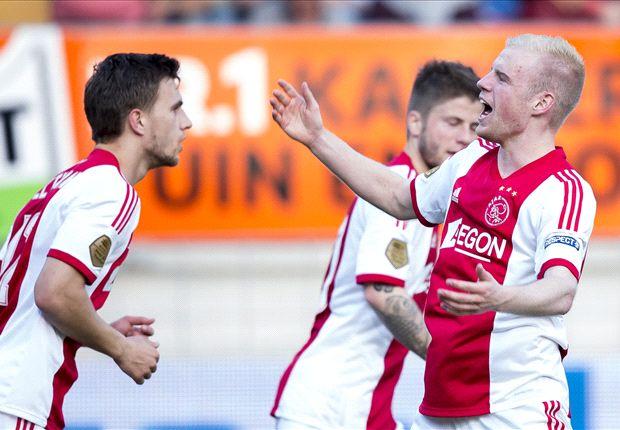 Ajax wint eenvoudig op bezoek bij RKC