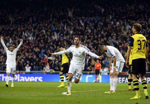 Laporan Pertandingan: Real Madrid 3-0 Borussia Dortmund